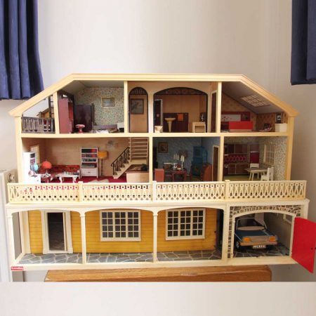 Vintage Lundby Stockholm Dolls House & Basement